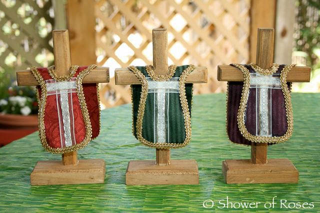 Shower of Roses: Teaching Children the Liturgical Colors of the Church Year