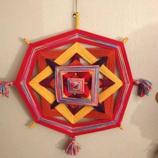 Mandala ojo de Dios, $8 mil pesos