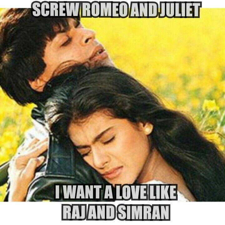 Screw Romeo & Juliet... I want alive like Raj & Simran #DDLJ