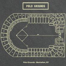 Polo Grounds Stadium Diagram T-Shirt