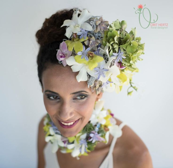 Floral design & photography: Orit Hertz Model: Hadas Weisman