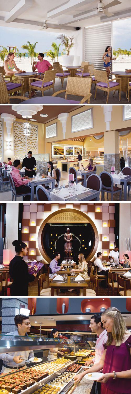 Riu Playa Blanca restaurants - Panamanian food - Italian Food - Asian Food - Beach restaurant - Coclé. Panamá