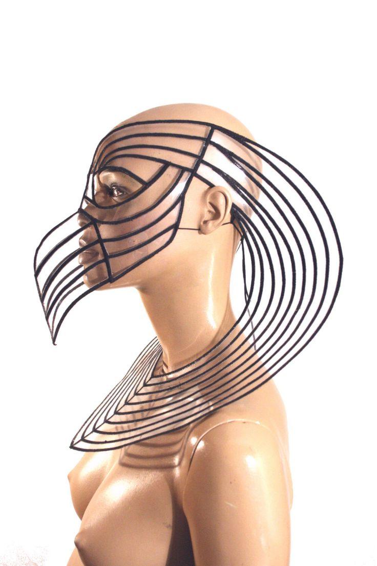 Horus Mask plague doctor mask with beak masquerade steampunk mask by divamp on Etsy https://www.etsy.com/listing/191134833/horus-mask-plague-doctor-mask-with-beak
