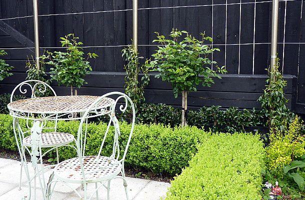 French garden furniture.