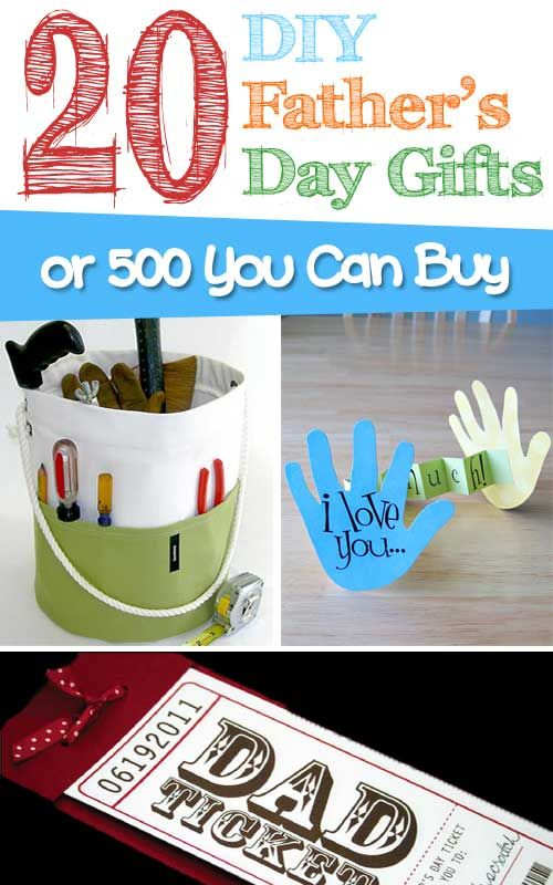 Cute Birthday gift ideas you can make with your kids. ALL DIY!