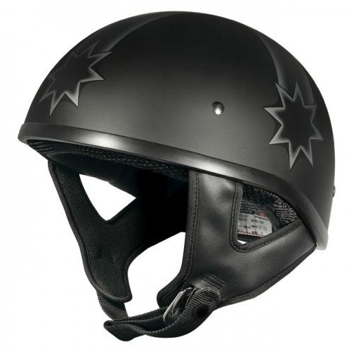 M2R Rebel Shorty Last Stand PC-2 Motorcycle Helmet