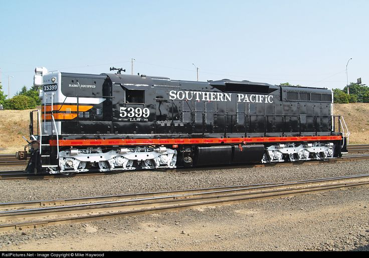 Southern Pacific Emd Sd9 Diesel Locomotive Trains Pinterest The End Principal And Motors