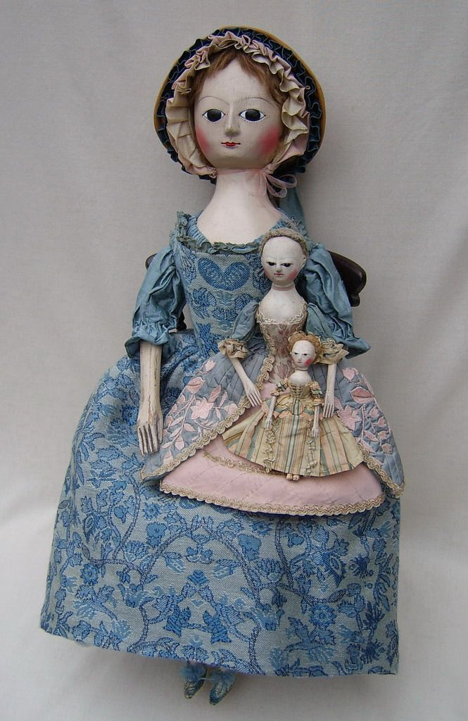 Reproduction Queen Anne Dolls