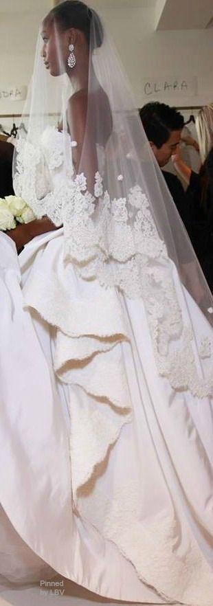 Oscar de la Renta Bridal 2015 | LBV ♥✤ | BeStayBeautiful <3<3