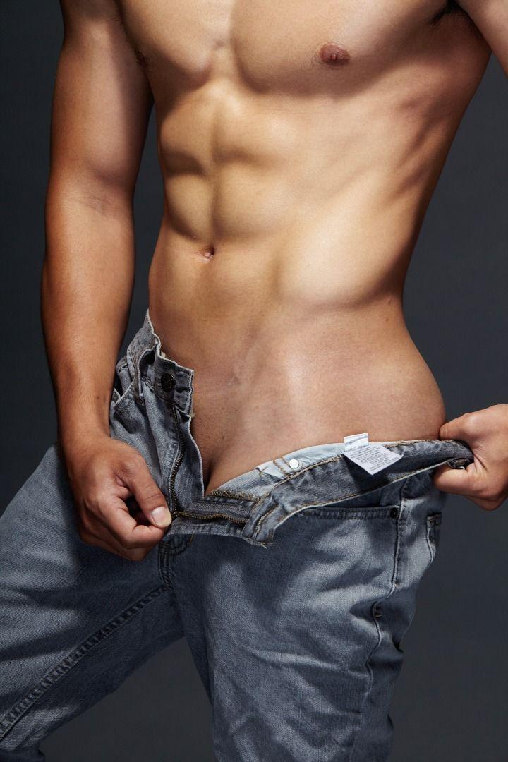 Panty have metal dildo