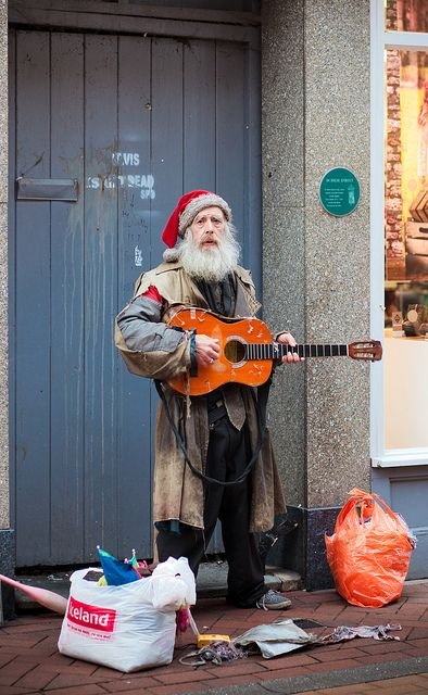 by Martyn Fordham - Homeless Santa