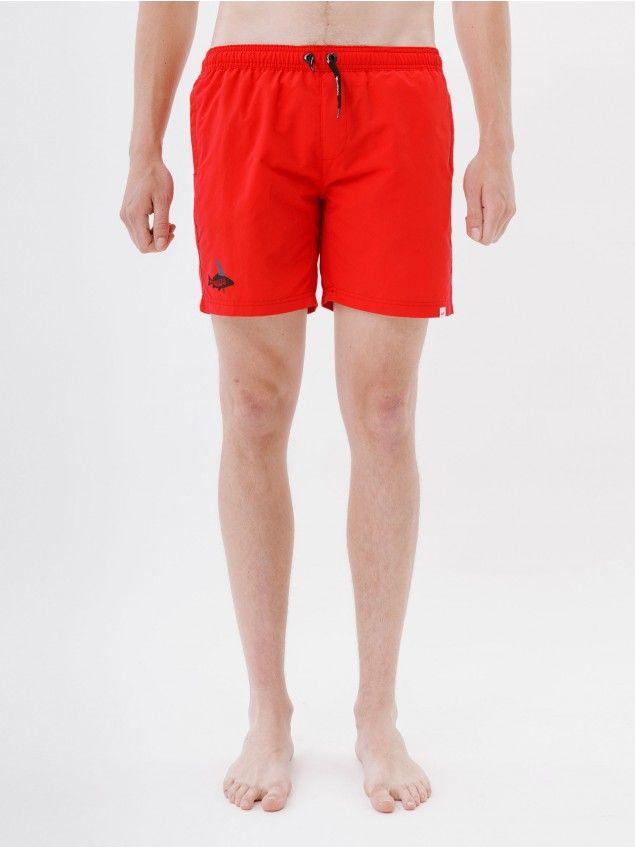 Pez Red Boardshorts //