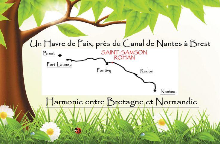 Pascal et Valérie vous accueillent dans un esprit familial et chaleureux, afin de vous ressourcer et de vous reposer. Une table d'hôtes vous sera servie avec les produits du terroir et du jardin. L'établissement se trouve à 2.5km des commerces et à 200m du Canal de Nantes à Brest.