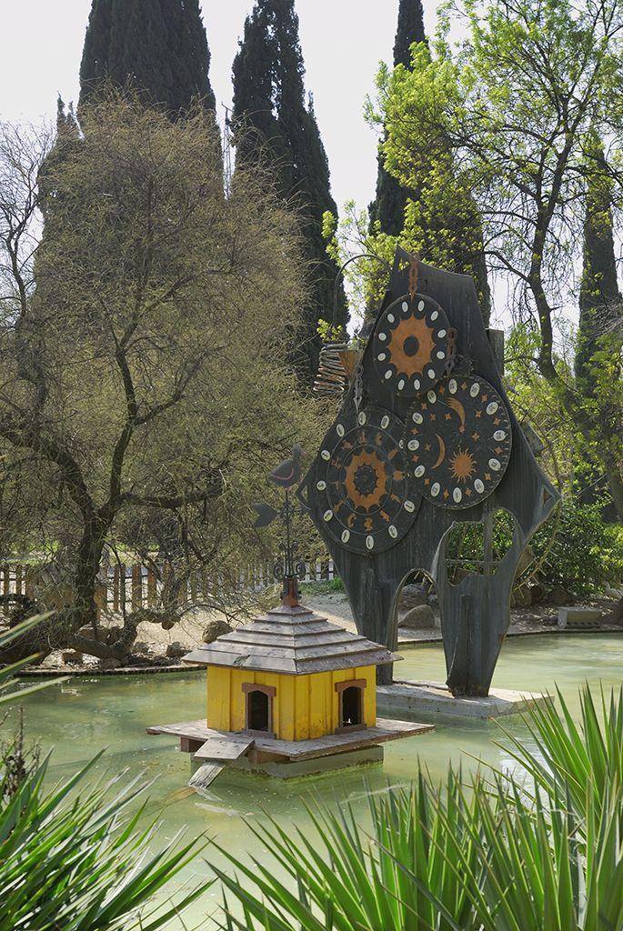 Efe22 - Reloj Jardín Botánico, Parque Grande José Antonio Labordeta, Zaragoza