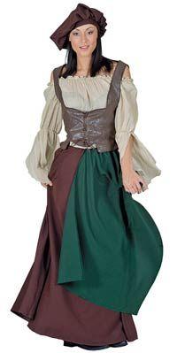 中世の農民成人衣裳-中世の衣装