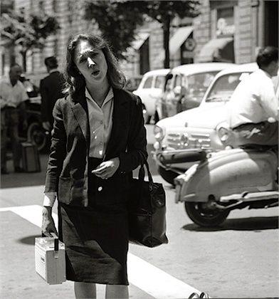 Oriana Fallaci - Vogue.it 1963 #TuscanyAgriturismoGiratola