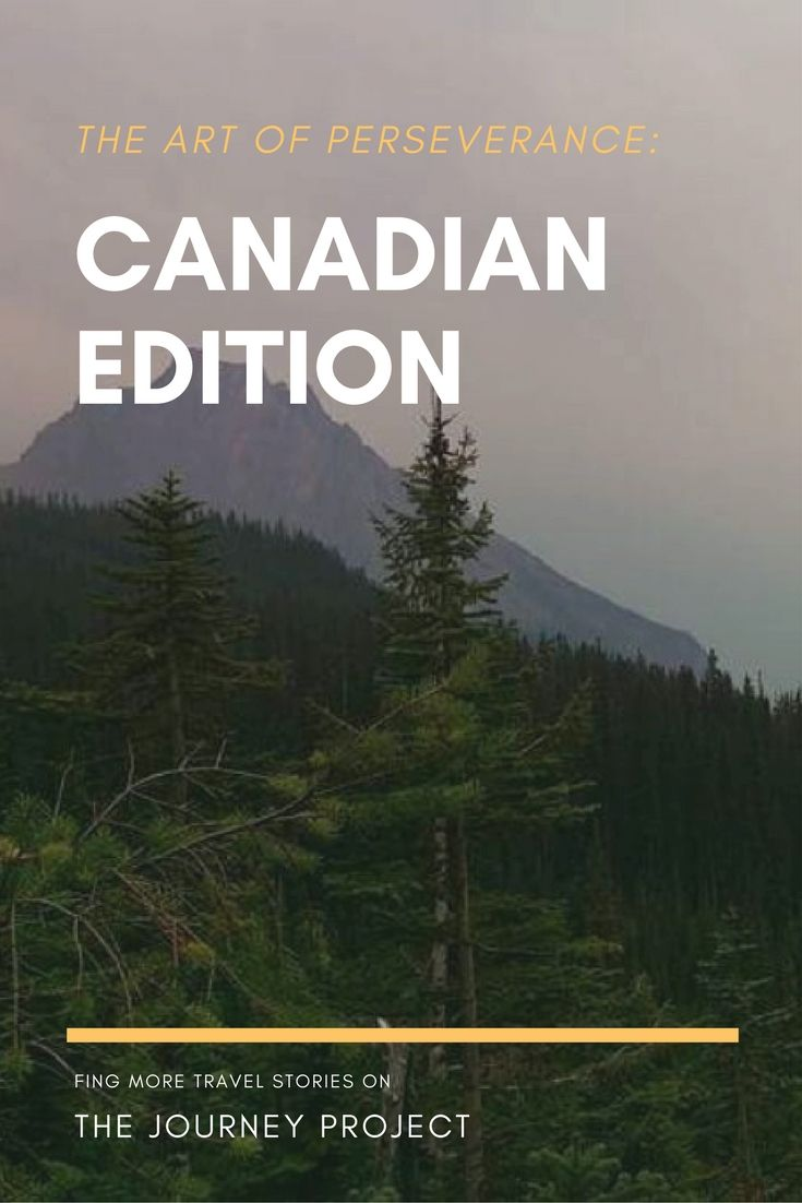 There are some people who know when to quit, and Canadians are not those people. I'd like to blame what happened on our Canadian stubbornness, but even I have to admit that occasionally we just make really bad choices. If you can relate, read about our experience in Yoho National Park, Canada!   The Journey Project