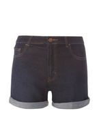 Womens **Tall Indigo Shorts- Blue