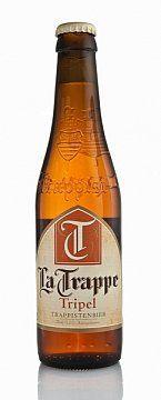 """PIWO LA TRAPPE TRIPEL 0,33L - Piwo górnej fermentacji klasztorne, klasy """"tripel"""" - potrójne. Kolejna, mocniejsza piwa La Trappe, charakteryzująca się ciemnym czerwono-brązowym kolorem, piwo warzone wg tradycyjnej ..."""