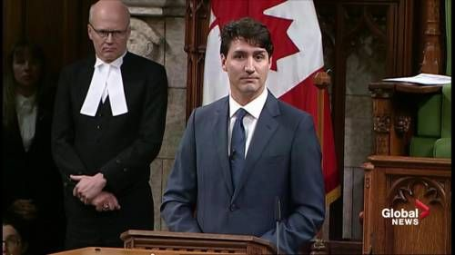 PM Trudeau takes veiled shot at Donald Trump during Women's Day speech