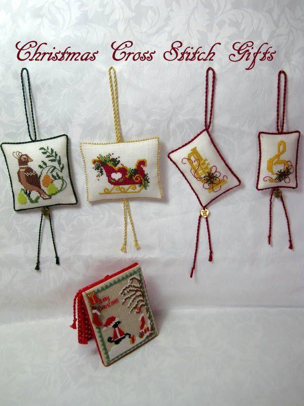 Christmas+cross+stitch+ornaments+Lynn+B.JPG (600×800)