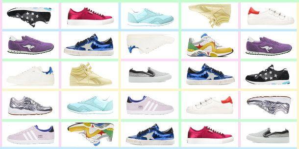 Przegląd najmodniejszych sneakersów na wiosnę-lato 2015 #sneakers #buty #shoes #moda #fashion