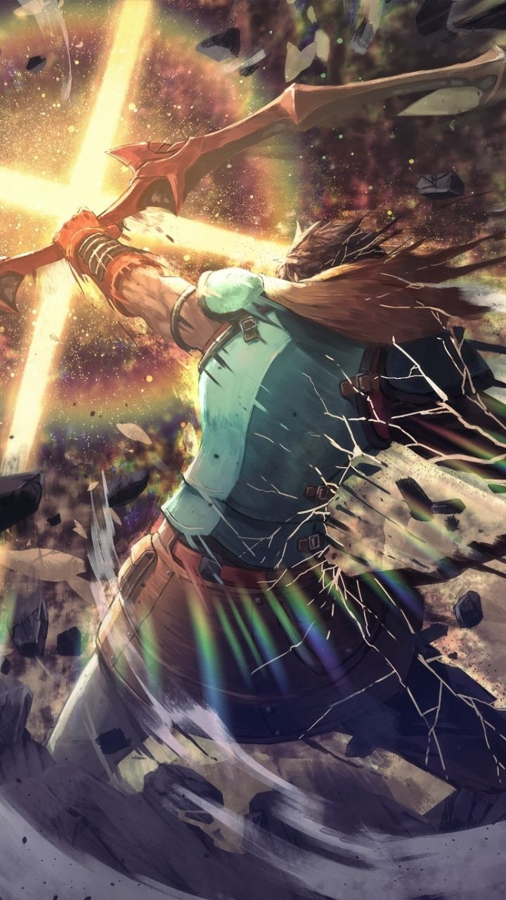 Download 720x1280 Wallpaper Archer Warrior Fate Grand Order
