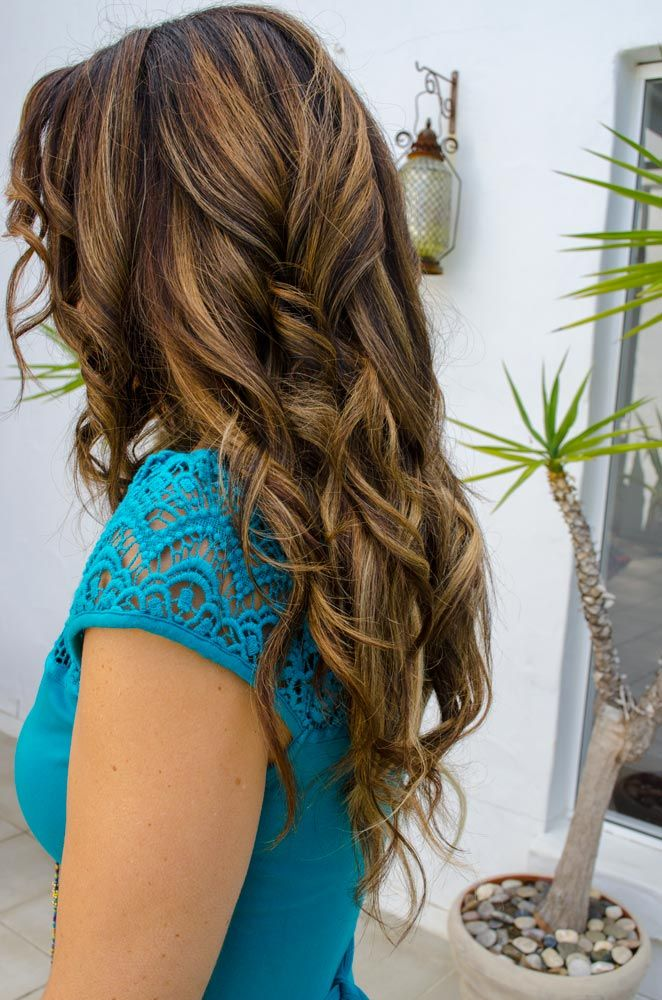 Long Curly Hair - Editorial / Fashion / Wedding / Bridal hair styles