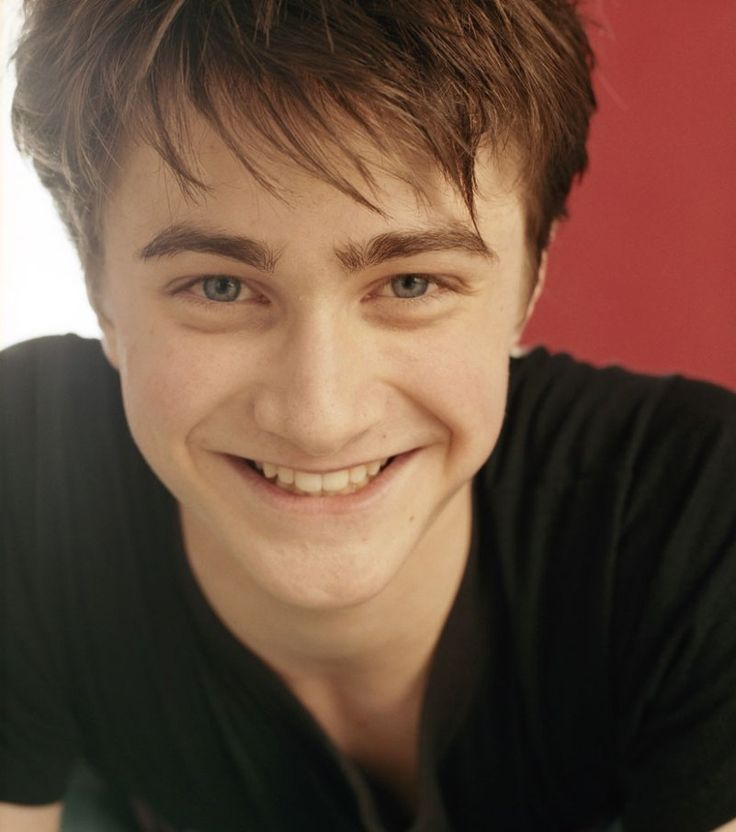 Daniel Radcliffe: It's just such a happy picture