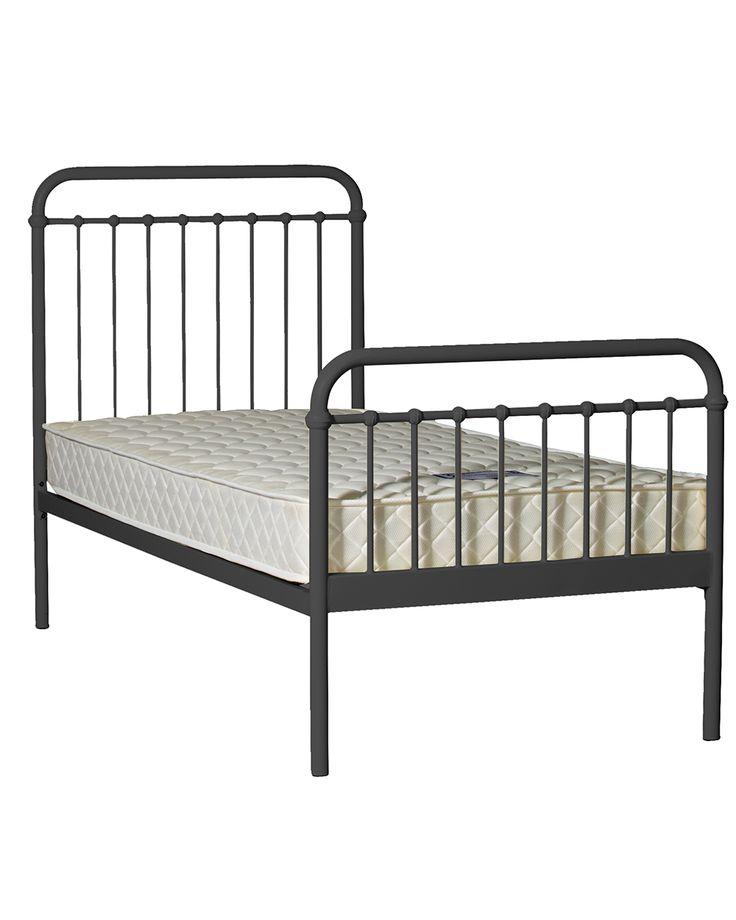 LOFT GRAPHITE SINGLE BED