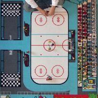 TAPIS HOCKEY SUR GLACE 130 CM X 200 CM  Sur ce tapis représentant une patinoire, retrouvez la billetterie, la boutique, les tribunes numérotées, la table de marque, les prisons, les vestiaires des joueurs et la buvette avec son baby-foot. En avant les matchs de hockey pour votre enfant ! #hockey #playmobil #Tapitom #Ffhg #PlaymobilHockey