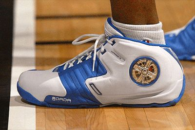 Latrell Sprewell's Spinning Rims DaDa Sneakers Are Making a Comeback