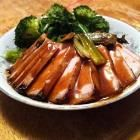 Foto recept: Karbonades met honing-hoisinsaus