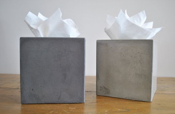 Hey, I found this really awesome Etsy listing at https://www.etsy.com/listing/164303361/concrete-tissue-box-cover