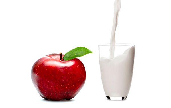 Кефирно-яблочная диета - эффективный способ похудения.