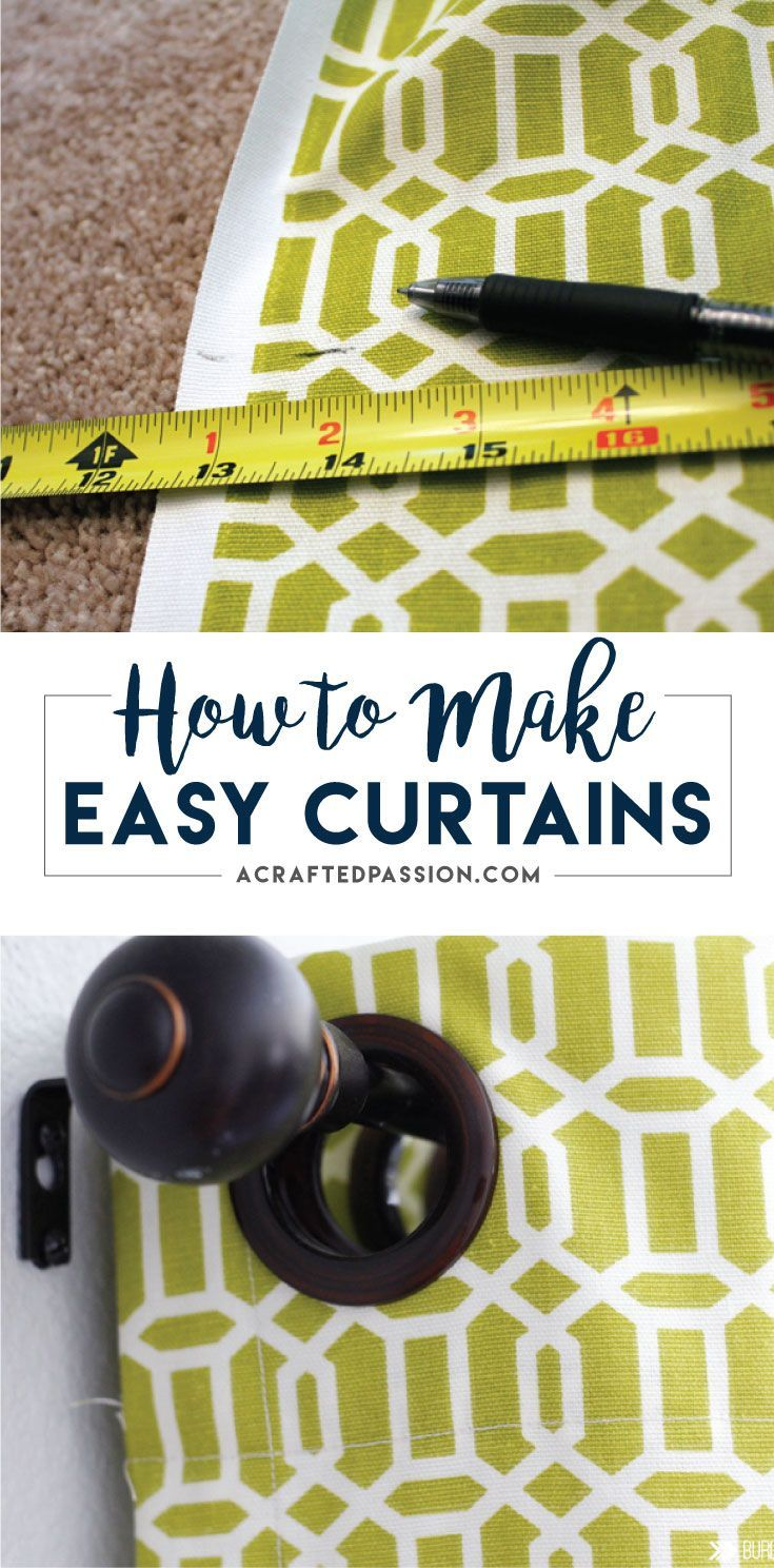 Diy copper curtain rods that wont break the bank diy how to window - How To Make Curtains