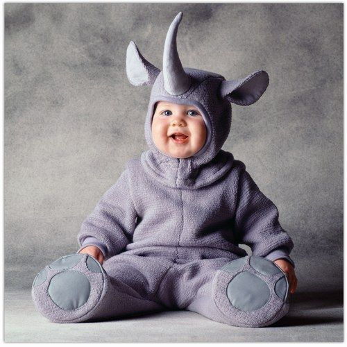 Déguisement bébé : Rhinocéros - Déguisement bébé