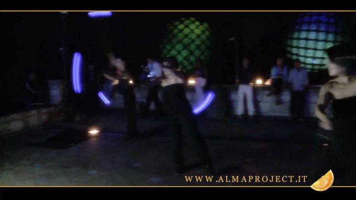 ALMA PROJECT - Ledshow & dance @ Vincigliata
