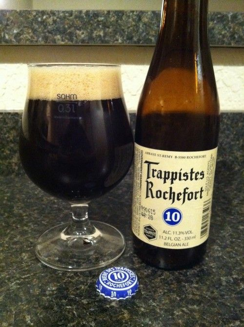 Trappiste Rochefort 10....This is my favorite beer.  Always a nice inexpensive gift.