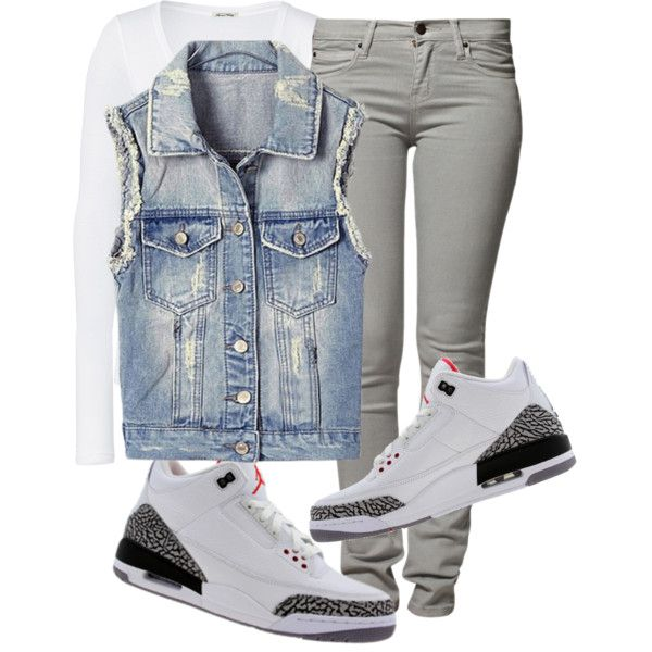 """That Jordan Girl"" by fashionsetstyler on Polyvore"