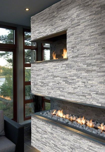 Fireplace Stone best 10+ modern stone fireplace ideas on pinterest | modern