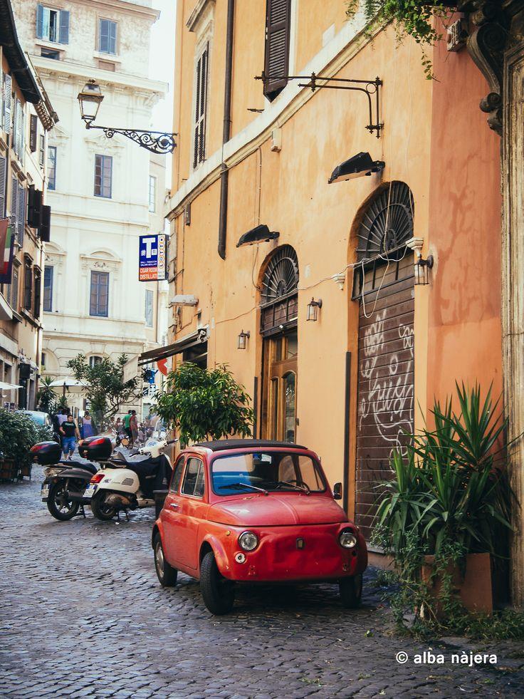 Rome street Roma