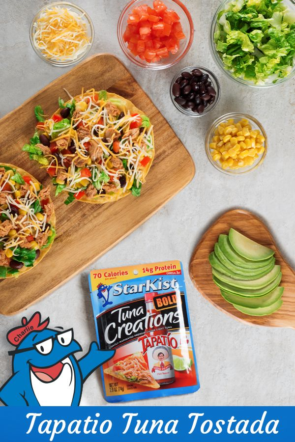 Add a little zest to your dinner dish with our Tapatio Tostada!