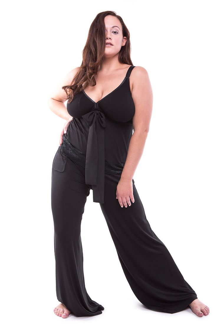 Straight-Laced A-line Top + Chill Out Wide Leg Lounge/Sleep Pants