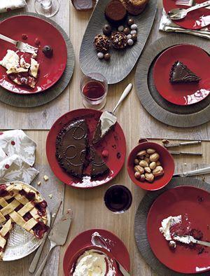 "Marin Red 10.5"" Dinner Plate"