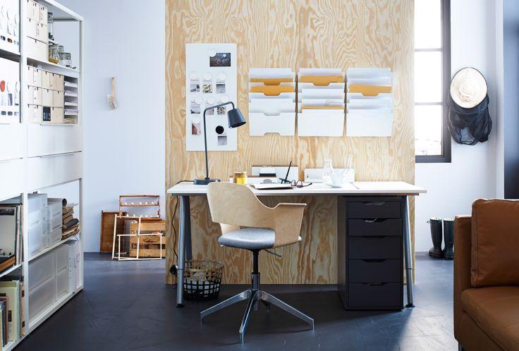 Ikea Schreibtisch Ordnungssysteme ~   sur Pinterest  Ordnungssysteme Büro, Diy Schreibtisch et Die Küche