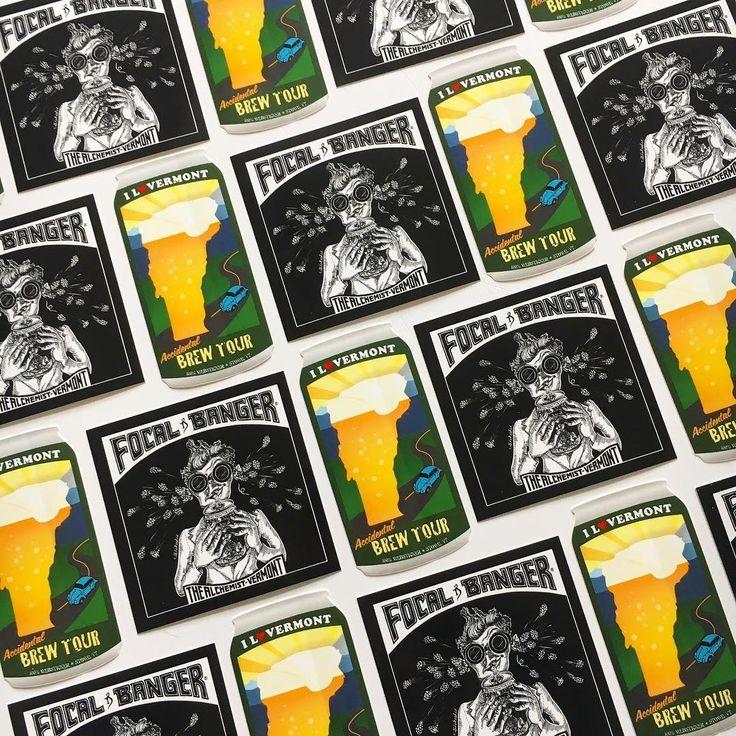 Focal banger heady topper brew tour alchemist stowe vermont websticker
