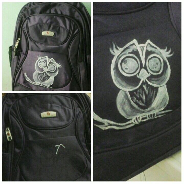 Owl on my bag