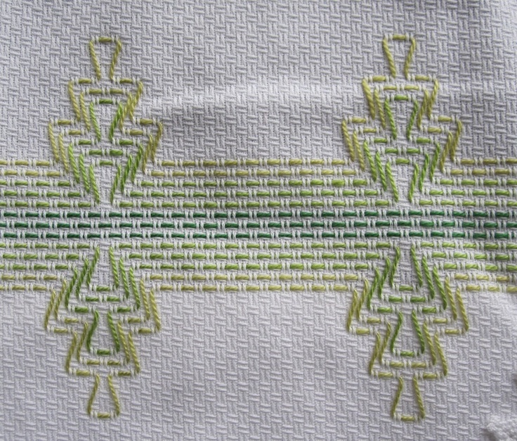 Huck Weaving