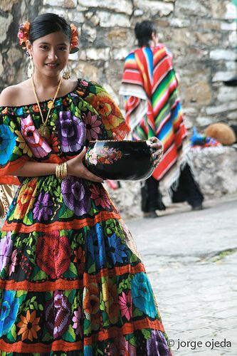 Parachicos, traditional dancers from Chiapa de Corzo, Chiapas, Mexico